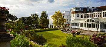 the.Bromley.Court.Hotel.gardens.make.the.perfect.backdrop.for.wedding.photos
