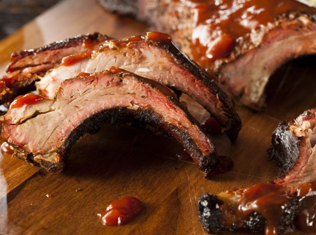BBQ meat food ribs