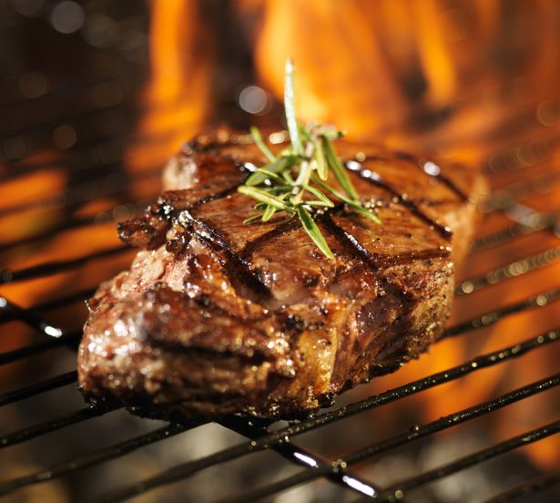 BBQ steak grill food meat