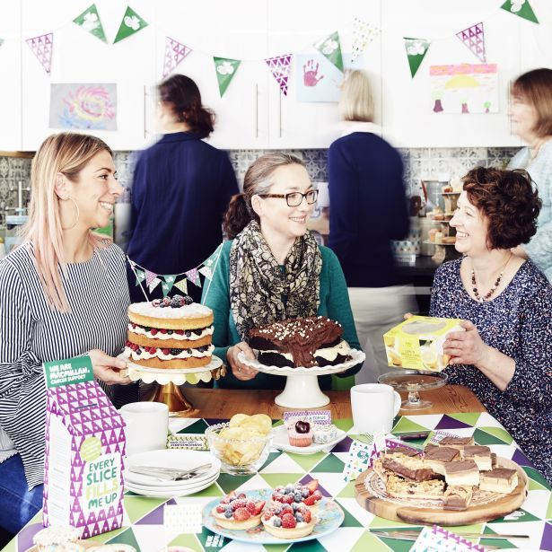 Macmillan Coffee Morning - home M&S