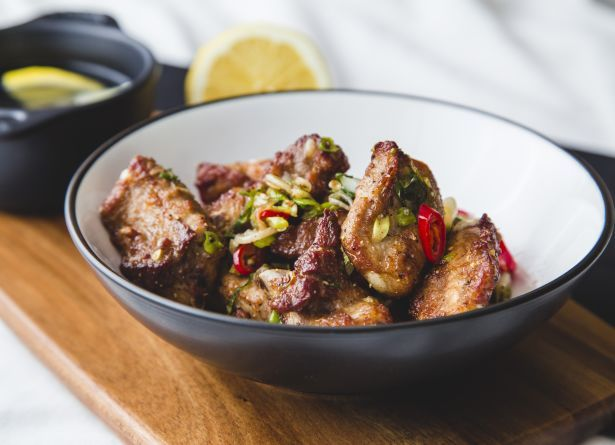 Oriental Salt & Pepper Ribs