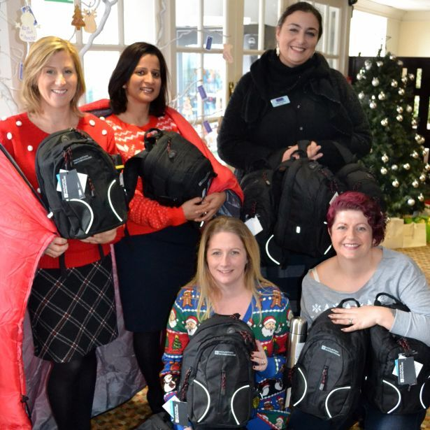 Tudor Park Giving Tree raises vital equipment for Maidstone homeless