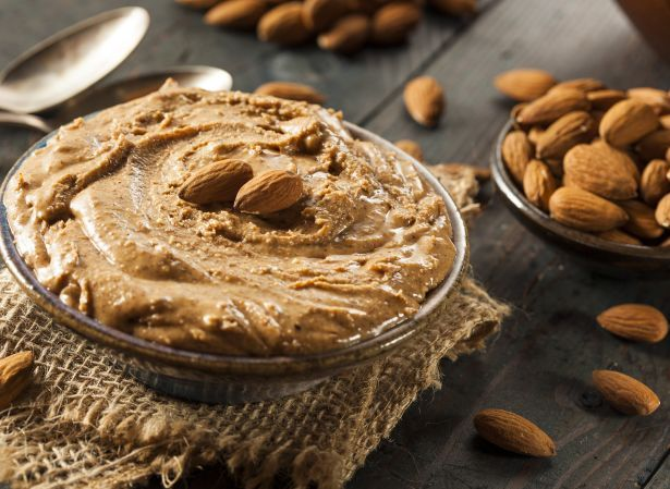 almond butter bowl food