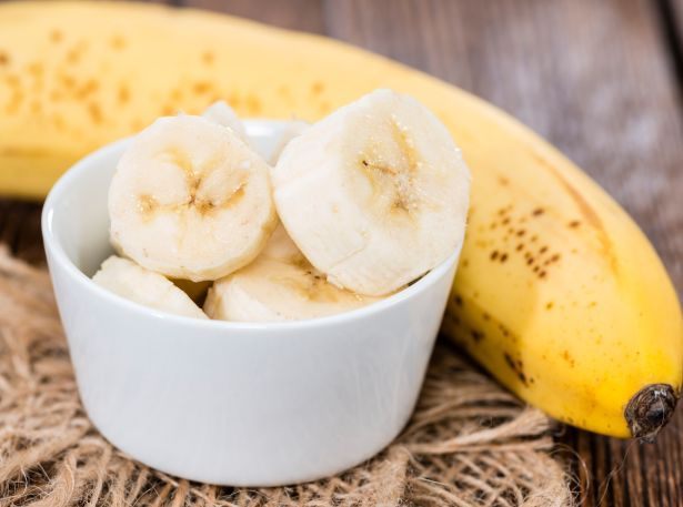 banana cut up food
